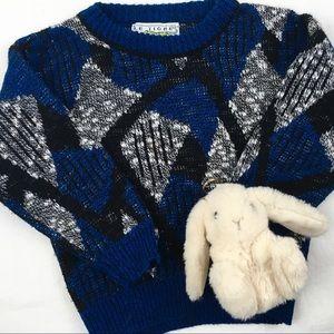 Vintage Chunky Knit Grandpa Sweater